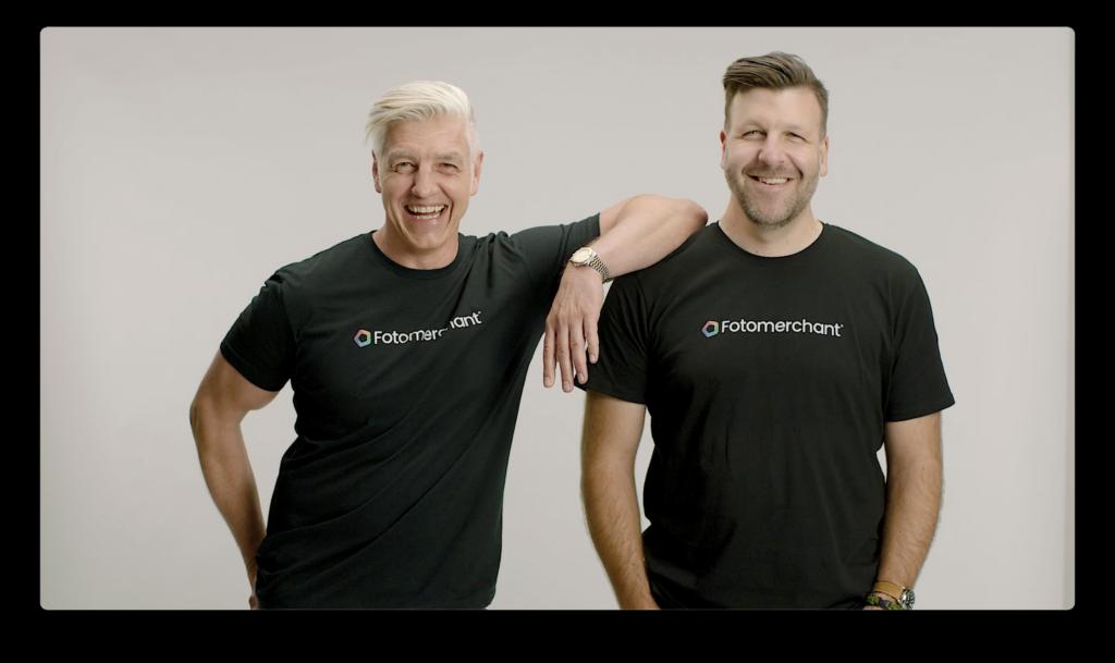 Elmar Platzer & Derek Clapham - Co-Founders of Fotomerchant